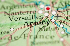Najem vozila Antony, Francija