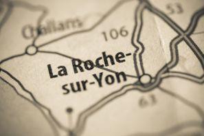 Najem vozila La Roche Sur Yon, Francija
