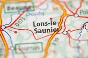 Najem vozila Lons Le Saunier, Francija