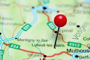 Najem vozila Luxeuil Les Bains, Francija