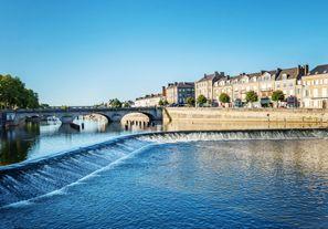 Najem vozila Mayenne, Francija