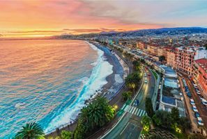 Najem vozila Nice, Francija