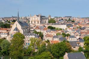 Najem vozila Poitiers, Francija