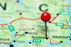 Najem vozila Roanne, Francija