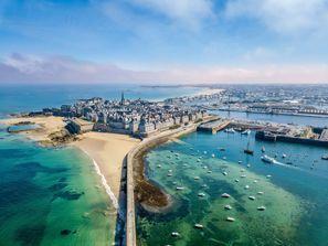 Najem vozila Saint Malo, Francija