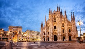 Najem vozila Milan, Italija