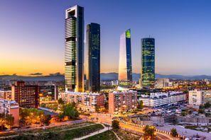 Najem vozila Madrid, Španija